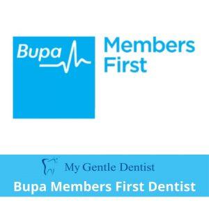 Bupa Members First Dentist - My Gentle Dentist