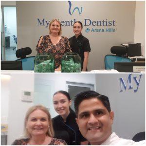 My gentle dentist happy staff-2